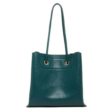 Sole Society Jocinda Boxy Tote With Metal Detail