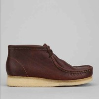 Clarks Wallabee Leather Boot - Brown