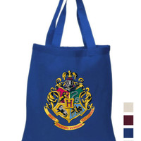 Harry Potter House Cotton Tote hand bag hogwarts ECO canvas shoulder bag | eBay