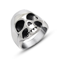 Jewelry Shiny New Arrival Gift Korean Stylish Strong Character Titanium Vintage Ring [6542707843]