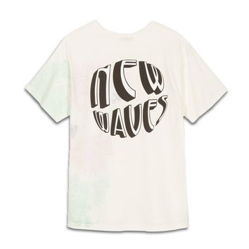 Stussy New Waves Tee - Natural