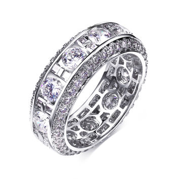 Best selling Engagement rings for girls Evening cocktail Latest jewelry Sweet look High quality Women's trendy ring