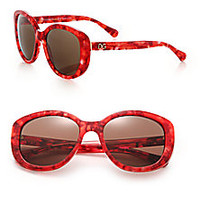 Dolce & Gabbana - 55MM Square Sunglasses - Saks Fifth Avenue Mobile