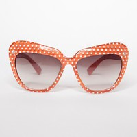 Dotty cat eye sunglasses