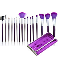 16-pcs Make-up Brush Pale Violet Tools Hot Sale Make-up Brush Set [6048694081]