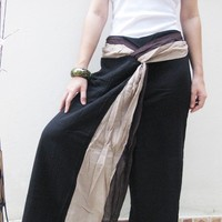Twin colour for youbrown pants by designbyme2010 on Etsy