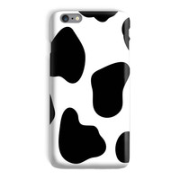Cow Print Phone Case - iPhone 6, 6s, 5 and Samsung Galaxy S7, S6 Edge Case