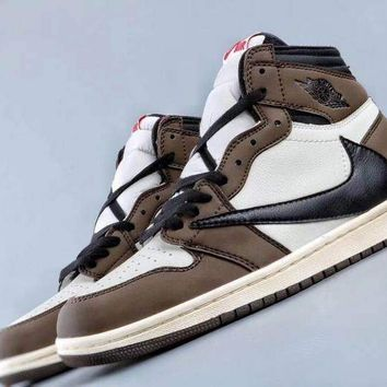 "Air Jordan 1 x ""Travis Scott/Cactus Jack"" Retro High Sneaker"