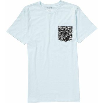Billabong Team Pocket Tee Shirt - Blue