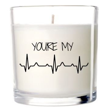 You're My Heartbeat Candle