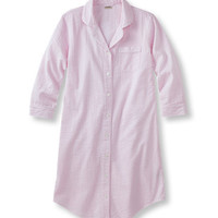 Seersucker Nightshirt, Stripe: Sleepwear | Free Shipping at L.L.Bean