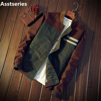 Men's jacket new Cultivate Collar Jacket Male Baseball