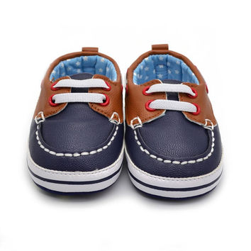 BOY'S LACE-UP BOATING SHOES