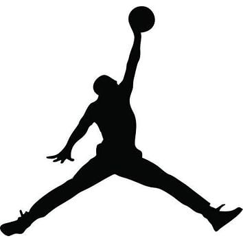 23 AIR Jordan Jumpman Logo Huge Wall Decal Sticker For Car Room Windows