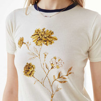 Kimchi Blue Marigold Fitted Tee - Urban Outfitters