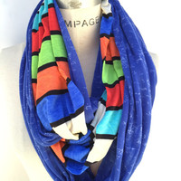 Womens scarves hand made, colorblock color block, original gifting, Christmas holiday gifts, autumn finds, handmade gifts for her, PiYOYO