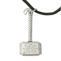 Marvel Thor Mjolnir Cord Necklace