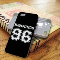 5 SOS Hemmings 96 Star Music Band iPhone 5C Case