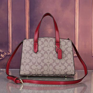COACH Women Fashion Tote Shoulder Bag Crossbody Satchel