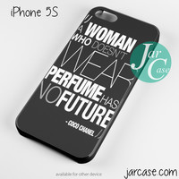 Coco Chanel Quote Phone case for iPhone 4/4s/5/5c/5s/6/6 plus