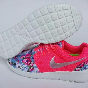 sale!! -20% only for this month custom nike free roshe pink run athletic women shoes w