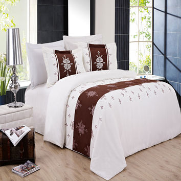 Bar Iii Bedding Vintage Scroll Twin From Macy S