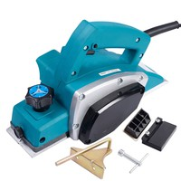 Gopus Powerful Electric Wood Planer Door Plane Hand Held Woodworking Surface New