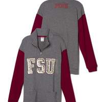 Florida State University Bling Boyfriend Half-Zip - PINK - Victoria's Secret