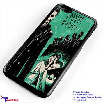 American Horror Story Murder House - Personalized iPhone 7 Case, iPhone 6/6S Plus, 5 5S SE, 7S Plus, Samsung Galaxy S5 S6 S7 S8 Case, and Other