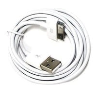 3 Pcs of White 6FT USB Data Sync Cable for Apple iPhone 4 4S 3GS iPod touch iPad