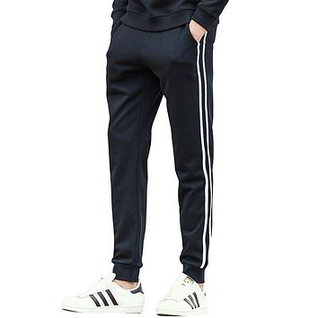 black sweatpants men clothing top quality male casual pants fashion men autumn spring casual trousers