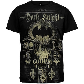 Batman - Bat Sunday T-Shirt (Size: S, Color: Black)