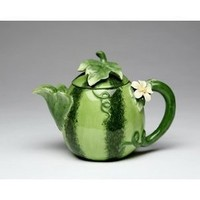 Amazon.com: Fine Porcelain Watermelon Teapot: Home & Kitchen