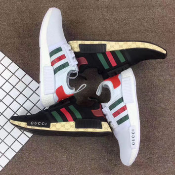 shosouvenir : GUCCI Adidas NMD Fashion Women/Men Casual Running Sport Shoes