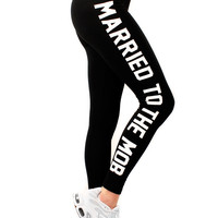 SUPREME BITCH LEGGINGS – Married To The Mob