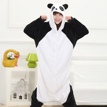 PEAPIX3 Sleepwear Animal Cartoons Couple Thicken Home Set Halloween Costume [9220975364]