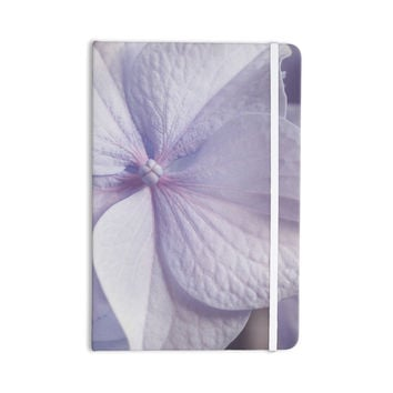 "Suzanne Harford ""Pastel Purple Hydrangea Flower"" Floral Lavender Everything Notebook"