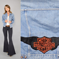80's HARLEY DAVIDSON Denim Jacket