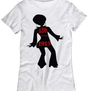 Delta Sigma Theta Dancer Top