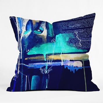 Holly Sharpe Sense Two Throw Pillow