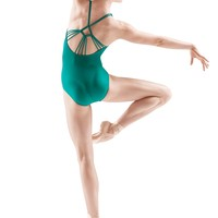 Bloch Mason Diamond Knot Racer Back Leotard / Bloch