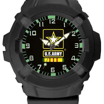 Aqua Force Army Vietnam Veteran Insignia Combat Field Watch (50M water resistant)