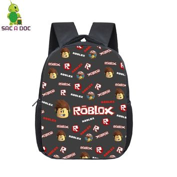 Roblox Game Collage Backpack Children School Bags Daily Backpack Students Primary Kindergarten Backpack Kids Bookbag