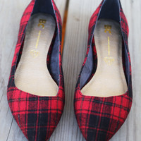 Rebel by BC Footwear {Plaid}