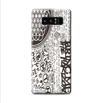 Bring Me The Horizon BMTH Collage Samsung Galaxy Note 8 case