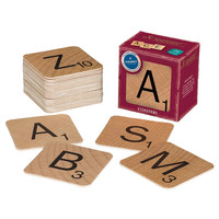 Scrabble Vintage Bar Style Coasters