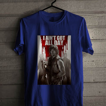 Norman Reedus Daryl Dixon The Walking Dead TV Series For Man And Woman Shirt / Tshirt / Custom Shirt