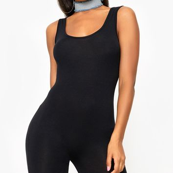 Lashanti Black Unitard