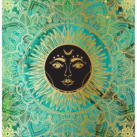 Mandala Sun Wall Art Multi One Size For Women 26973108801