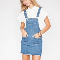 denim suspender dress - Shop the latest Fashion Trends